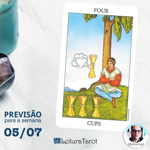 Previsão Semanal do Tarot de 05 a 11 de Julho/2020