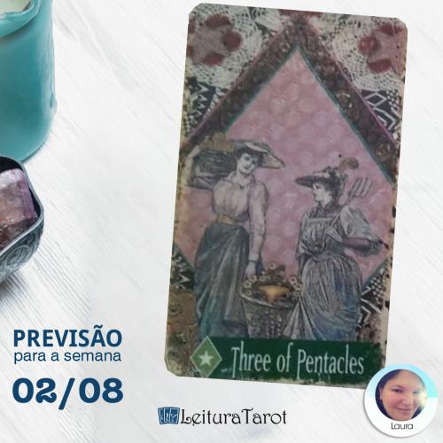 Previsão Semanal do Tarot de 02 a 08 de agosto/2020