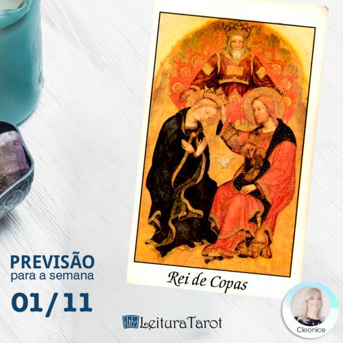 Previsão Semanal do Tarot de 01 a 07 de Novembro de 2020