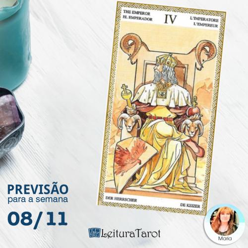 Previsão Semanal do Tarot 08 a 14 de Novembro de 2020