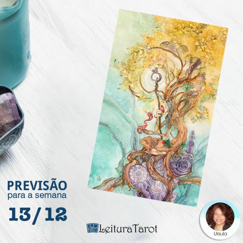 Previsão Semanal do Tarot de 13 a 19 de dezembro de 2020