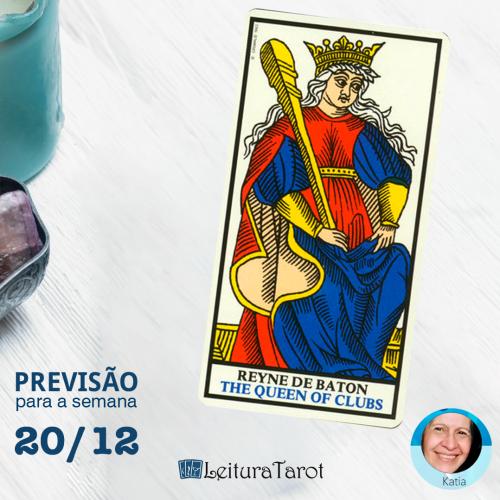 Previsão semanal do Tarot de 20 a 27/12/2020